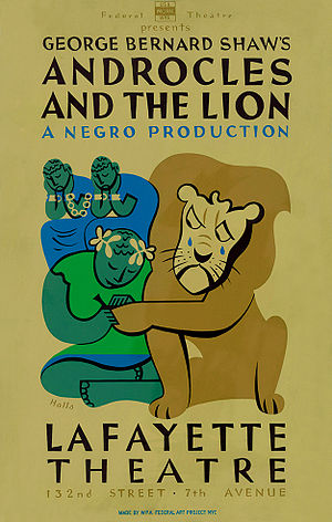 Androcles and the Lion (play) - 1938 Federal Theatre Project production
