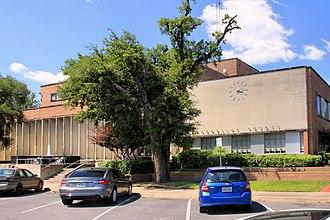 Angelina County, Texas - Image: Angelina county tx courthouse 2015