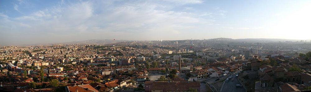 Панорама Анкаре
