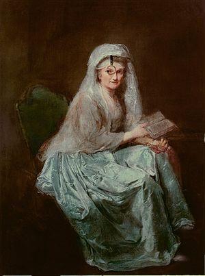Anna Dorothea Therbusch - Self-portrait, 1777