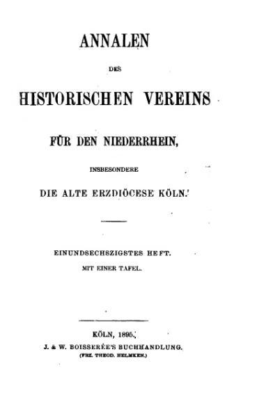 File:Annalen des Historischen Vereins für den Niederrhein 61 (1895).djvu