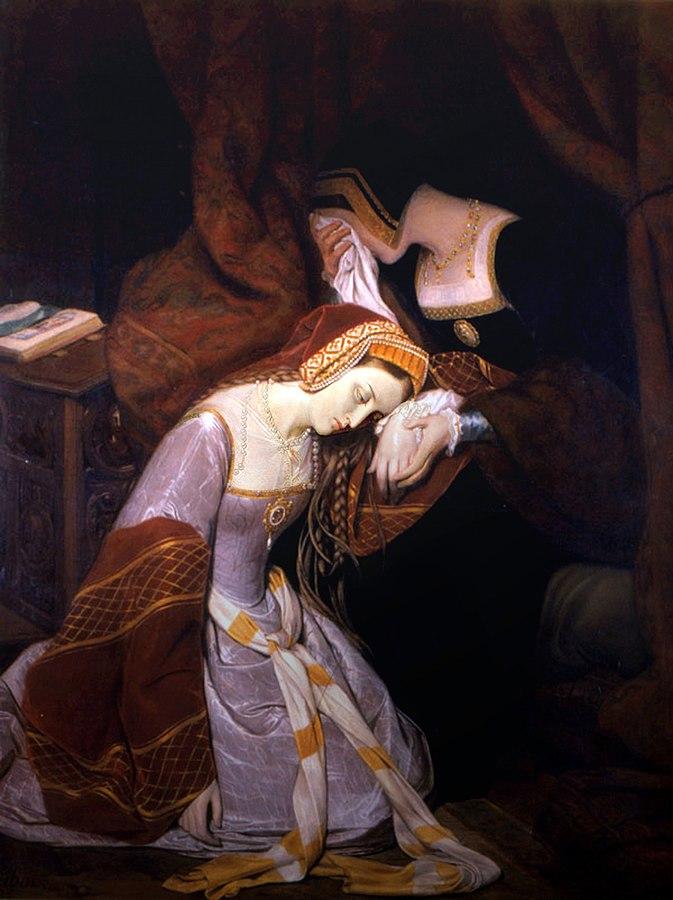 Anne Boleyn in the Tower of London