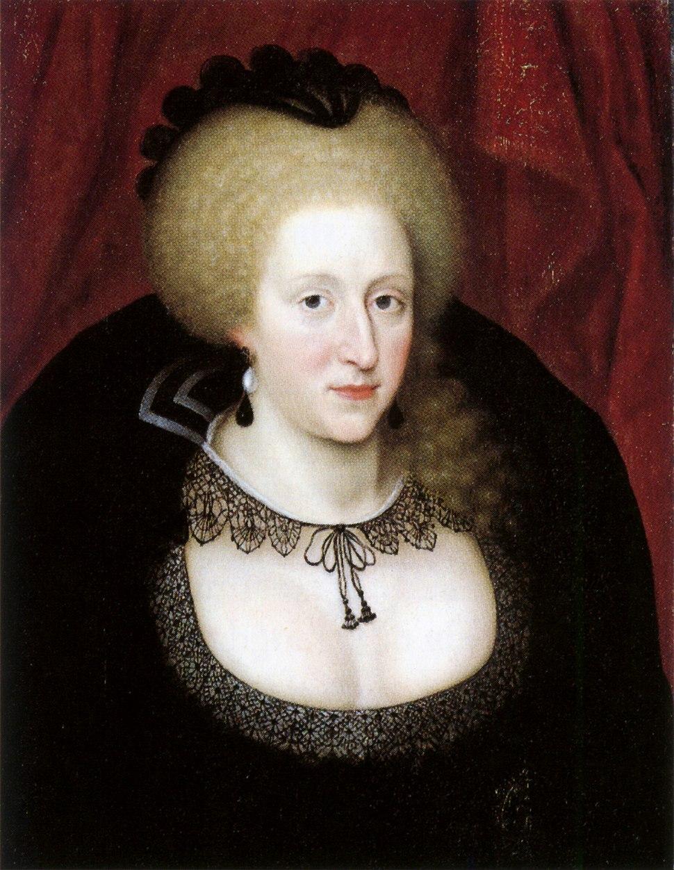 Anne of Denmark in mourning