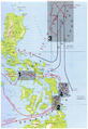 Annotated map of Battle of Leyte Gulf.png