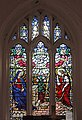 Annunciation window, All Saints Edge Hill.jpg
