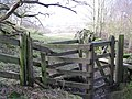Another kissing gate on the path to Oakpool - geograph.org.uk - 715835.jpg