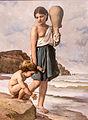 Anselm Feuerbach, Kinder am Strande, 1867, MGS-20160312-001.jpg