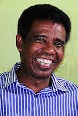 East Timorese presidential election, 2017 - Image: António da Conceição 2017 infobox crop