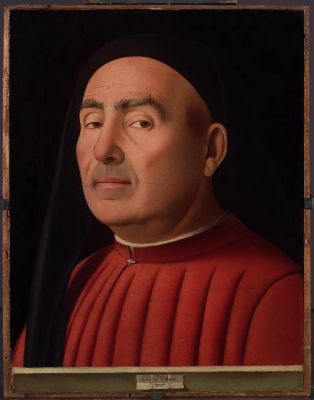 Antonello Da Messina - Ritratto Trivulzio