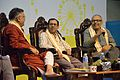 Anup Kumar Motilal - Haripada Bhowmik - Shirshendu Mukhopadhyay - Panel Discussion - Evolution of Bengali Cuisine - Ahare Bangla - Bengal Food Festival 2015 - Kolkata 2015-11-01 6874.JPG
