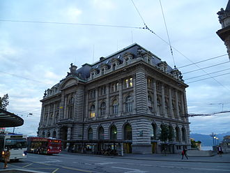 Banque cantonale vaudoise - The headquarters of the Banque cantonale vaudoise, in Lausanne.