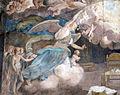 Arcispedale di santa maria nuova, portico restaurato, annunciazione di taddeo zuccari, 1560 ca. 05.JPG