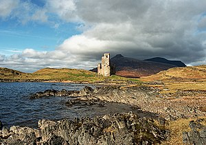 Assynt - Image: Ardvreck Castle