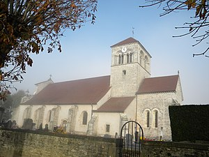 Argilly - The Church of the Assumption