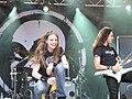Ari Koivunen at Amoral´s show in Tammela, Finland 2009.jpg