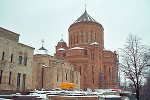 Ethnic groups in Moscow - The Armenian Cathedral of Moscow, completed in 2011