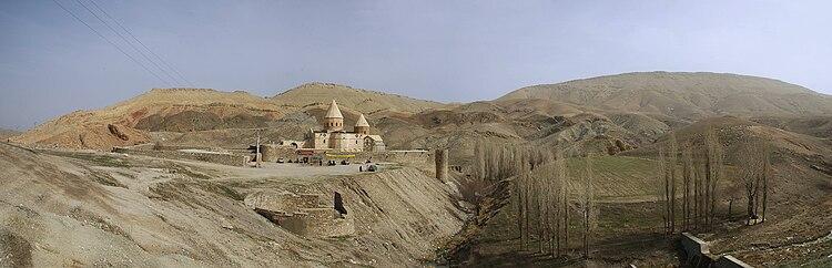 750px-Armenian_Monastery_of_Saint_Thadde