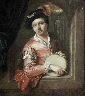 Arnold Boonen - Image: Arnold Boonen (attr) A young boy holding a tambourine