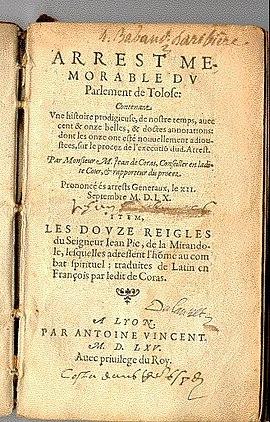 Martin Guerre Wikipedia
