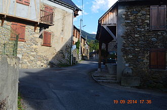 Arrien-en-Bethmale - A Street in Arrien-en-Bethmale