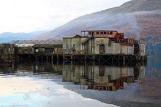 Arrochar, Argyll - Arrochar Torpedo Testing Facility