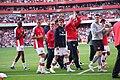 Arsenal end of 2008-09 season walkabout.jpg