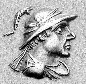 Artemidoros Aniketos - Portrait of Artemidoros