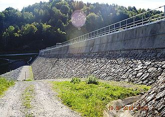 Artigues, Ariège - The Noubais Dam