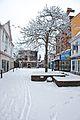 Ashford (Kent) Town Centre, High Street, February 2012 Snow.jpg
