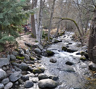 Ashland, Oregon - Ashland Creek in Lithia Park