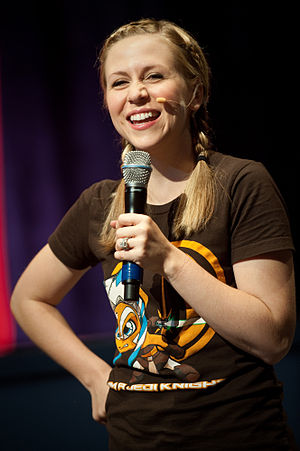 Ashley Eckstein - Eckstein in June 2010