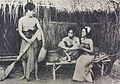 Astaman, Ismail, and Ratna Asmara in Noesa Penida Pertjatoeran Doenia Dec 1941 p36.jpg