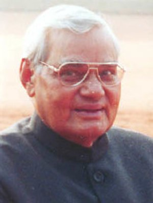 Atal Bihari Vajpayee, the first BJP Prime Mini...