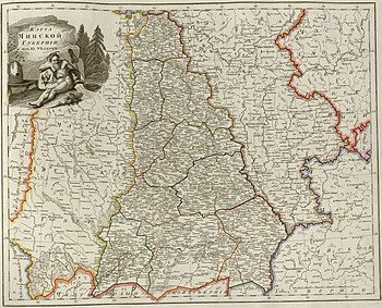 Atlas of Russian Empire (1800). Minsk governorate.jpg