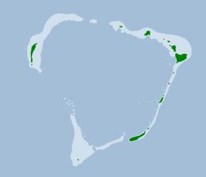Rongerik Atoll - Map