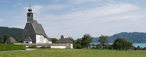 Attersee Abtsdorf Kirche 2
