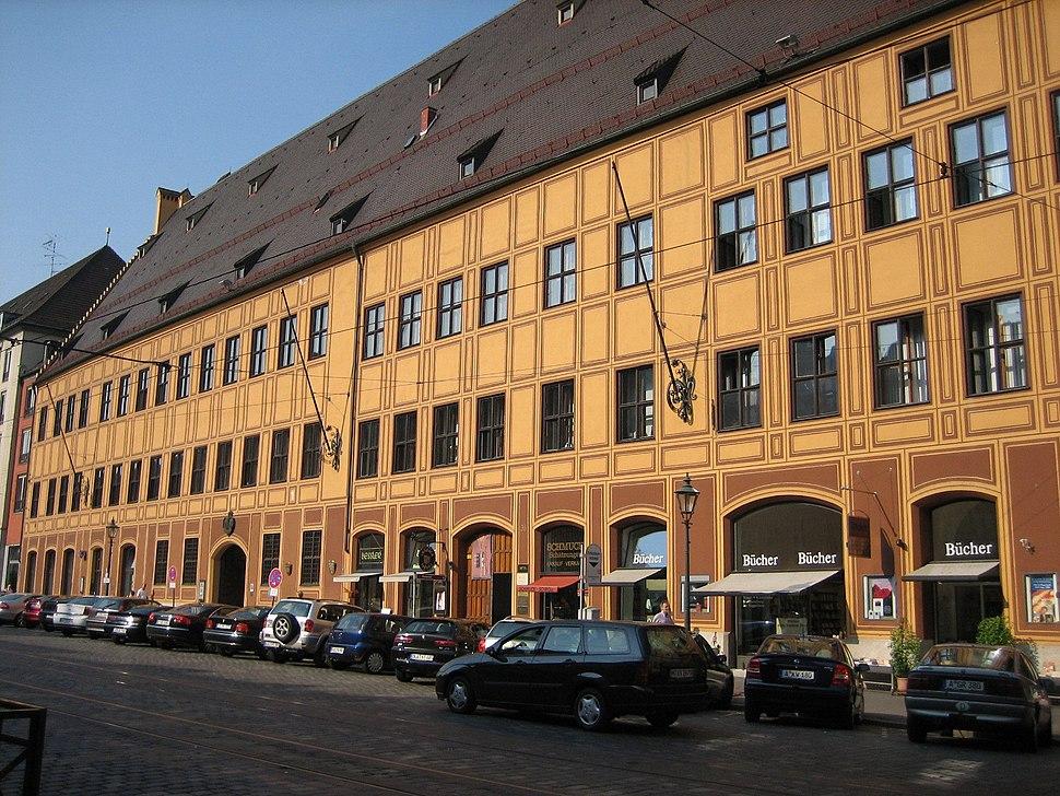 Augsburg Fuggerhaeuser Stadtpalast