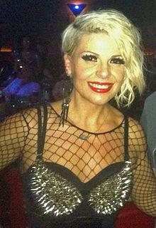 Aurela Gaçe Albanian singer and songwriter