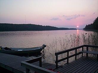 Lake Keitele - Sunset