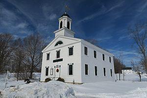 Center Strafford, New Hampshire - Austin Hall, Strafford Historic Society