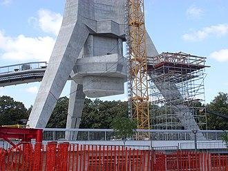 Avala Tower - Image: Avala Tower Construction 3