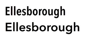 Avenir (typeface) - Avenir Next in regular and condensed widths.