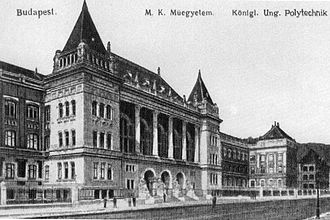 Budapest University of Technology and Economics - The university in 1909