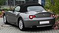 BMW Z4 2.2i (E85) – Heckansicht (1), 26. Juni 2011, Mettmann.jpg