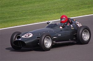 BRM P25 - Image: BRM P25 at Silverstone Classic 2011
