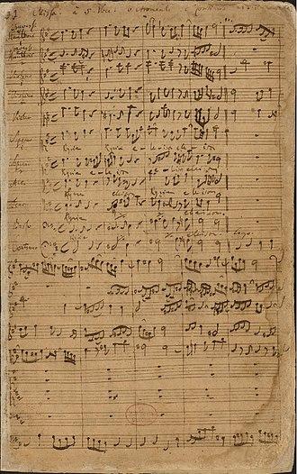 Missa brevis - Image: BWV 232 Kyrie
