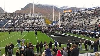 BYU Cougars football - BYU Blackout Uniforms in 2012