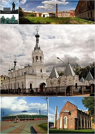 Babruysk - Image: Babrujsk Montage