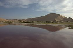 Sand dunes in the Badain Jaran Desert