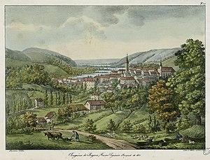 Bagnères-de-Bigorre - Bagnères-de-Bigorre in 1821